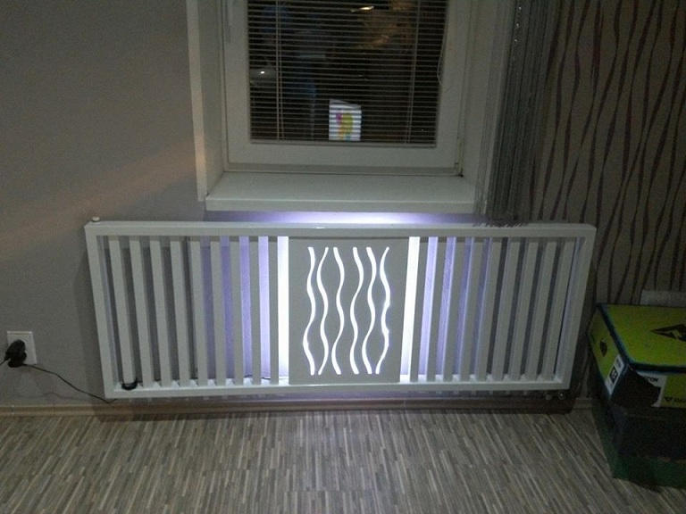 Designový radiátor
